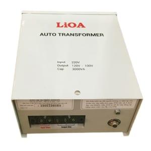 Bộ Đổi Nguồn 100V 120V 3KVA LiOA